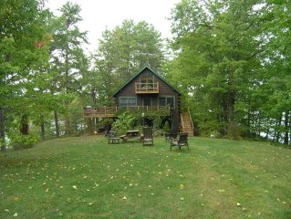 Private Ossipee Lake Front- 4 Season: Swim, Ski, Fish, Kayak, Family Fun, Relax