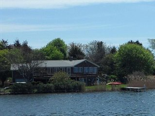 Waterfront Vacation Home with Dock, Located on Green Hill Pond