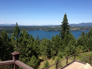 SPECTACULAR LAKE, MOUNTAIN AND CITY LIGHT VIEWS!! CLOSE TO TOWN & LAKES!