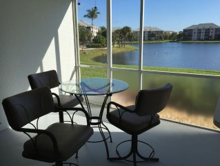Newly Renovated Lakefront/Beach Area Condo Available Now
