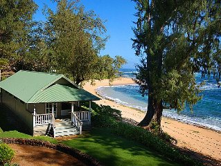 Direct Beachfront Cottage All Welcome