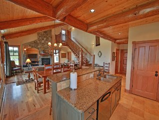 Beautiful designer home with views of the ski are