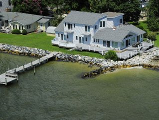 YOUR 'WATERFRONT' FAMILY VACATION HOME!  VIEWS ABOUND! FISH, BEACH, RELAX, CRAB