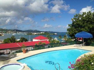 Beautiful Luxury Condo With Harbor and Sea Views-Schooner Bay
