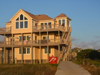 EAST WIND is gorgeous sound front home offering  beach front access on the sound
