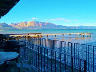 Lake Tahoe At Your Door! Stunning Lake & Mountain