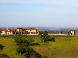 Enjoy staying in a Tuscan Villa with Vineyard and Hillside Views