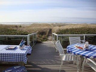 Beach Front Home On The Oregon Coast