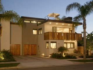 New Beautiful, Modern House with Huge Roof Top Deck & Balcony