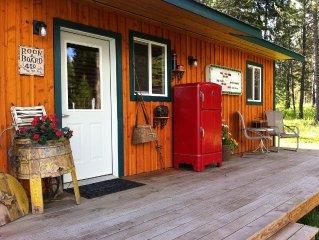 Cute cabin 10 minutes from Silverwood/Farragut Park!