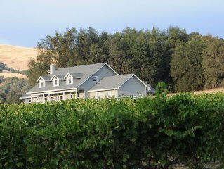 Hart 2 Hart Vineyard Estate Farmhouse:Luxury in the Heart of the Coloma Valley