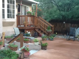No Cleaning Fees, Walk to Garden of the Gods, Pet Friendly