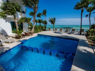 15% Disc.- from Aug - Nov 15. Luxury Oceanfront villa.Paradise at a lower rate!