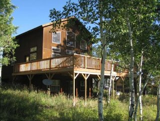 4 Bedroom, 3 Bath 2100 Sq. Ft Home with a Private Hot Tub and Large Deck