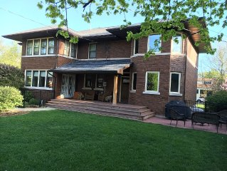 Large, Gorgeous Brick Home Four Blocks from Notre Dame