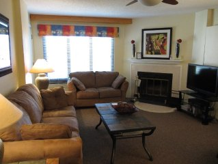 2BR/2BA Silver Creek, Ski-In/Ski-out, In-Side/Outside Heated Pools, Tubing