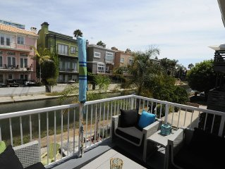 Venice Canals And Venice Beach 2+2 with Beautiful Views