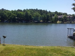 The lake is your front yard!