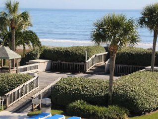 Best View In The Resort.  End Unit With Complete Ocean/Beach/Pool View.