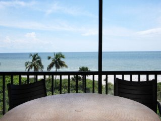 Direct Gulf Front Tropical Penthouse Retreat- Priceless View- On The Beach SP137