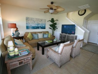 Perfectly Appointed 4BR/4BA Beach & Oceanfront Cottage