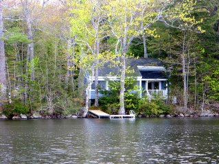 Lakeside cottage on McCurdy Pond just minutes from Damariscotta and Round Pond