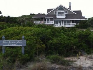 Sea Lavender : 6BR/4BA Sleeps 15 : Amazing Bald Head Island Family Retreat