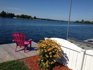 1000 Islands Region-The river, The views, The only thing missing is YOU!