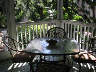 Couple's Perfect Retreat - Beach, Woods, Tennis, Restaurants..