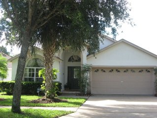 Beautiful Private Home-South-facing Pool with spa; close to Disney
