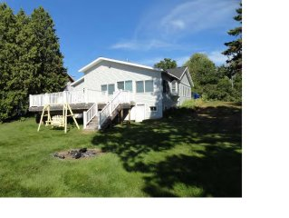 Modern Spacious Cottage Right On Warm, All Sports, Bear Lake With Sunset View.
