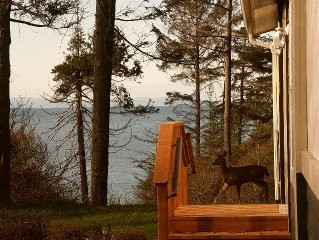 Humble Bee Hive has Water Views, Pvt. Beach, Between Sequim and Port Angeles