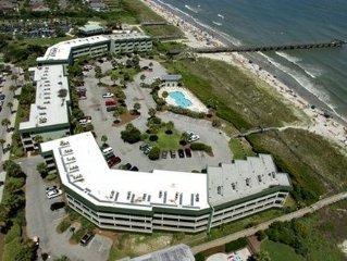 Oceanview Condo W/ Pool & Fishing Pier