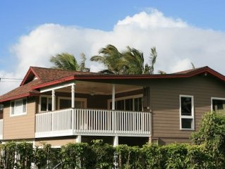 5 Star Luxury Beach House in Haena - 30 Seconds to the Sand, Ocean, Beach view