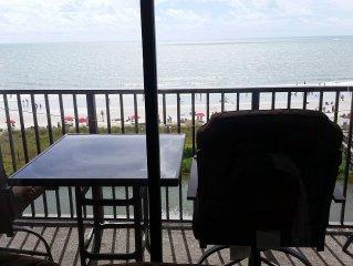 In Myrtle Beach Resort Direct Oceanfront 506B. Sweeping Ocean Views From Balcon
