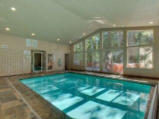 Riverside 6 Bed 6 Ba Indoor Pool & Hot tub & Sauna & Steam Shower In Tahoe