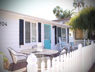 Charming Balboa Island Cottage Close To Town And Beaches
