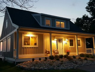 Beautiful Home on High Bluff overlooking Lake Michigan!  Jan/Feb Specials!!