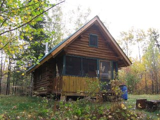 Private & Rustic Log Cabin only 7 Miles From Ely, MN
