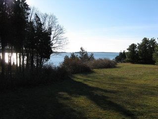 SECLUDED NEW HOME ON LITTLE PLEASANT BAY WITH PRIVATE BEACH