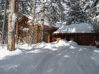 Enjoy the 'Old West' in Our Wonderful Log Home