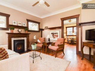 Charming  Historic Cottage on  Queen Anne Bluff