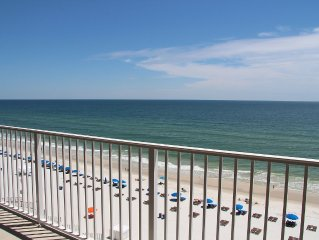 #106 -' Beauty and the Beach'- Gulf Front 4th floor/2BD 2BA/Large Balcony