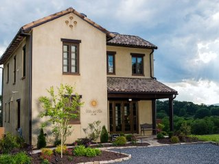 Villa del Sole, Luxurious Tuscan Inspired Villa In Montaluce Winery & Estates