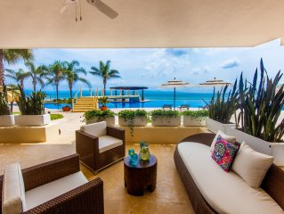 Designer Beachfront Condo In Punta De Mita's Most Luxurious Building