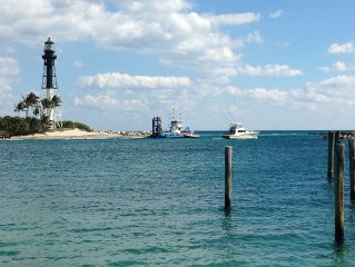 Direct View Of Famous Hillsboro Lighthouse!