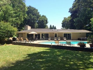 Private Country Home & Pool on ranch in Napa/San Francisco Bay Area, Free WiFi