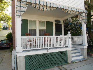 Half Block from Beach in the heart of Cape May