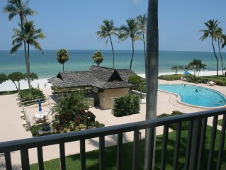 Beach Front Naples, FL-August and September rate deals!