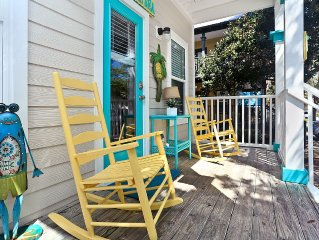 Perfect family getaway on 30A! Walk to beach & shops!
